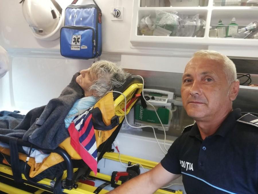 Tanti Duda, salvata din fântână de un polițist