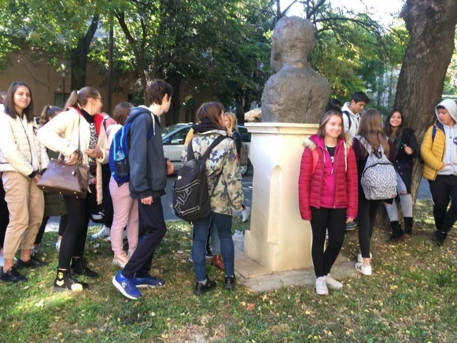 """Holocaustul din România – comemorat de elevii Liceului Tehnologic ,,Iuliu Moldovan"""" Arad"""