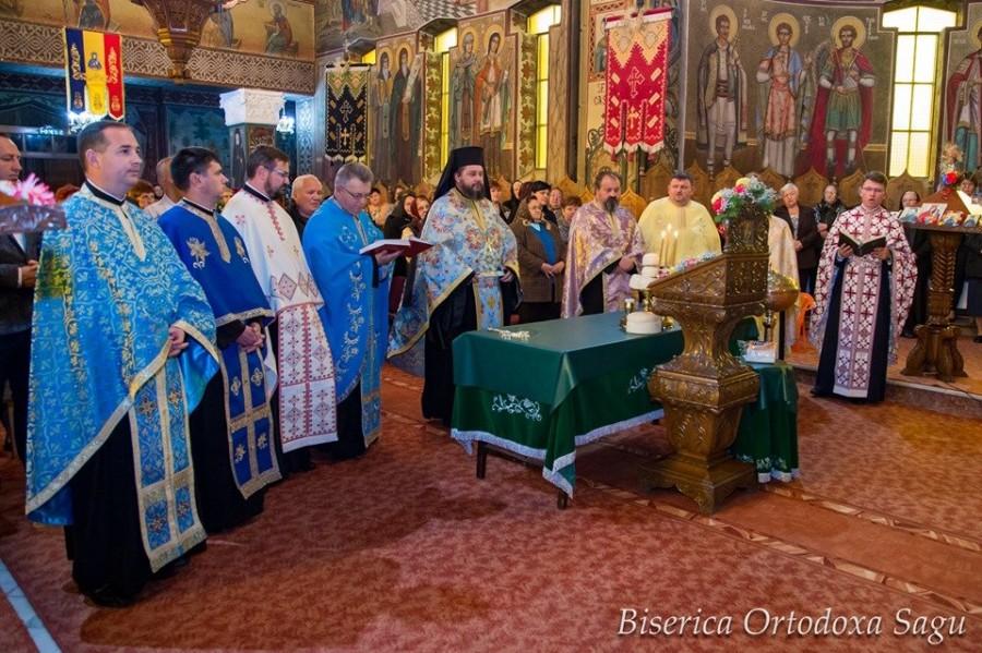 Credincioșii Parohiei Șagu își sărbătoresc ocrotitoarea