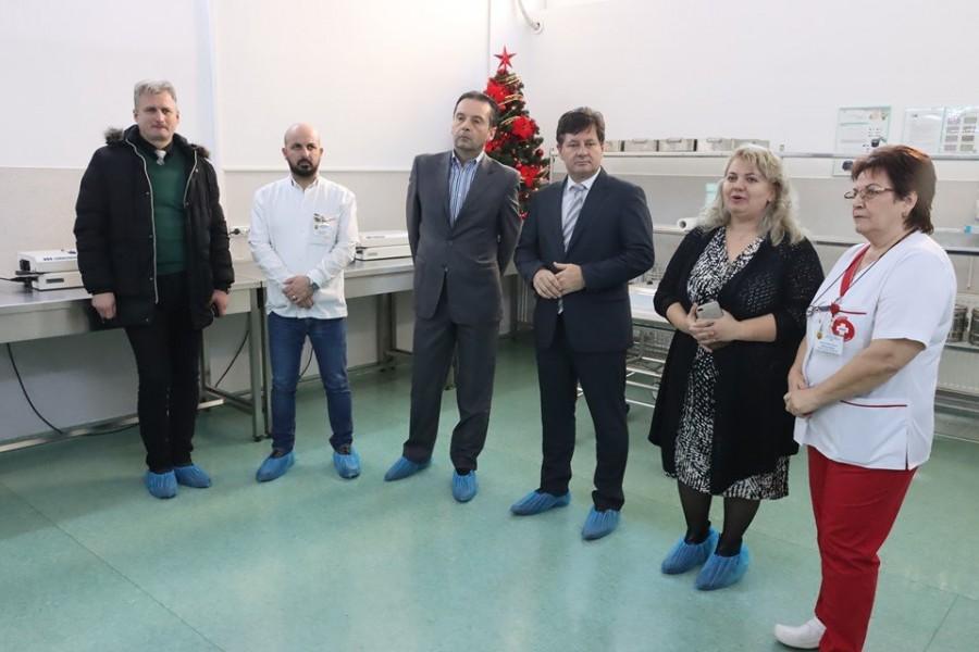 Reamenajarea și dotarea cu aparatură de ultimă generație a Stației Centrale de Sterilizare