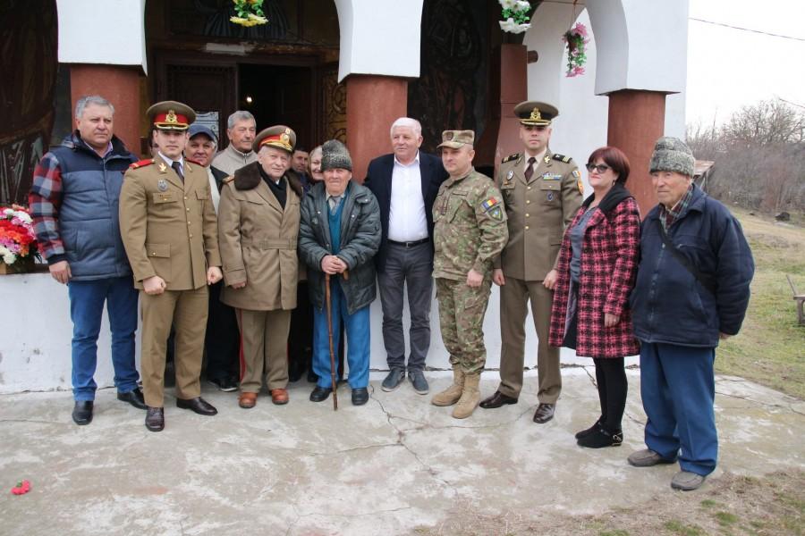 Veteranul de război Dumitru Chircan, sărbătorit la împlinirea vârstei de 100 de ani