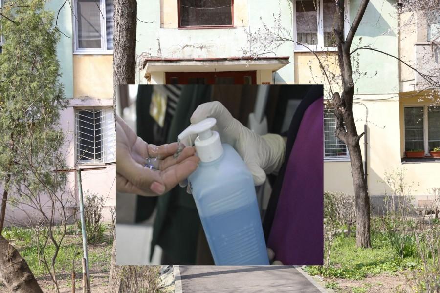 Toate blocurile trebuie să aibă la intrare dispozitive cu dezinfectant, începând din 31 martie
