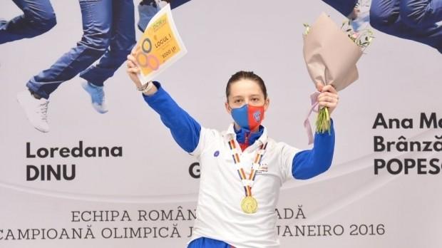 Ana-Maria Popescu a câştigat un nou titlu naţional la spadă