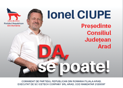 Ciupe - presedinte CJ