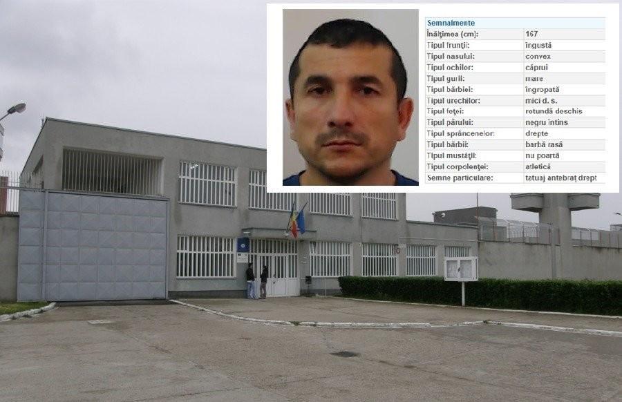 Deținutul evadat, în iulie, de la Timișoara a băgat Penitenciarul Arad în datorii