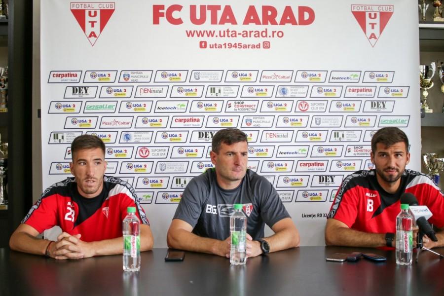 În linie dreaptă pentru meciul cu FK Csikszereda