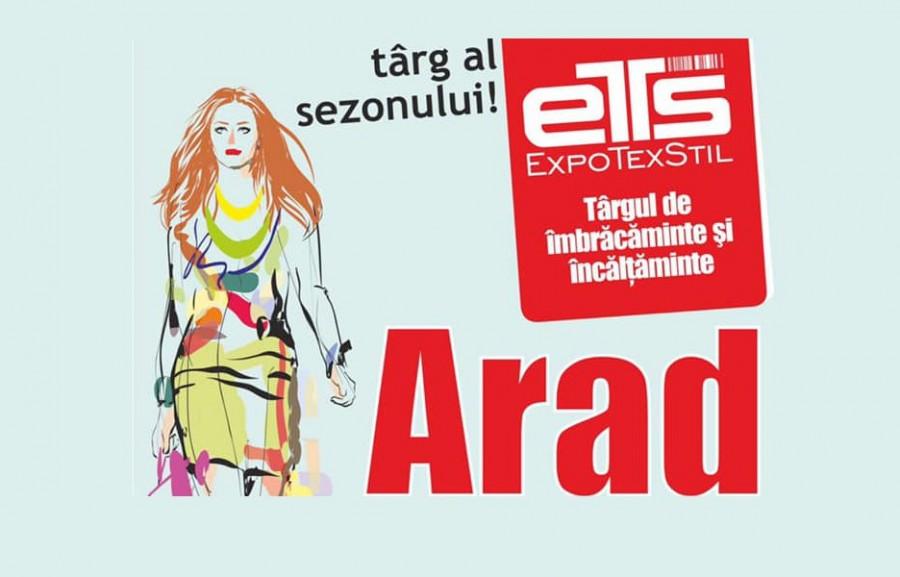 Târgul ExpoTexStil REVINE la Arad în perioada 4 - 8 septembrie!