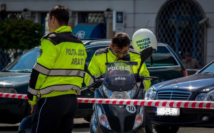Polițiștii locali la datorie de Zilele Aradului