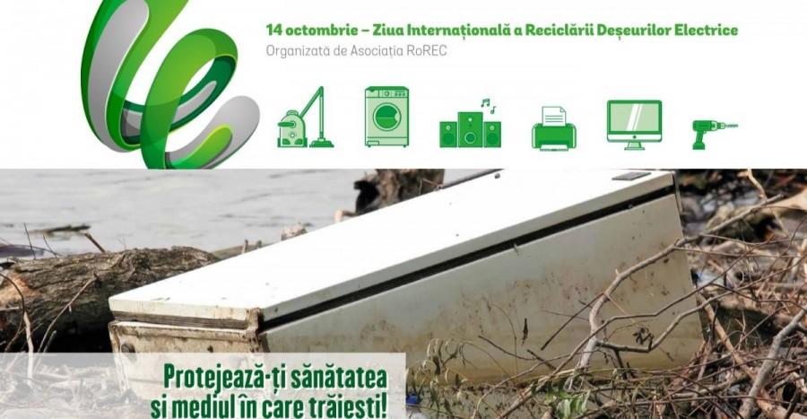 Aradul participă la Ziua Internațională a Reciclării Deșeurilor Electrice