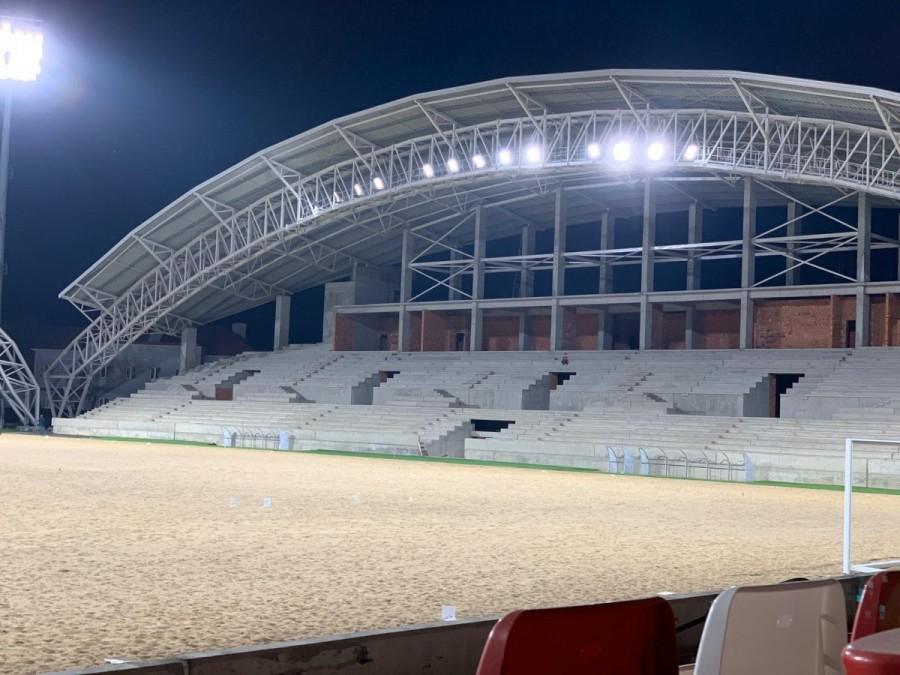 S-a aprins nocturna pe Stadionul UTA. Când s-a întâmplat acest lucru și de ce