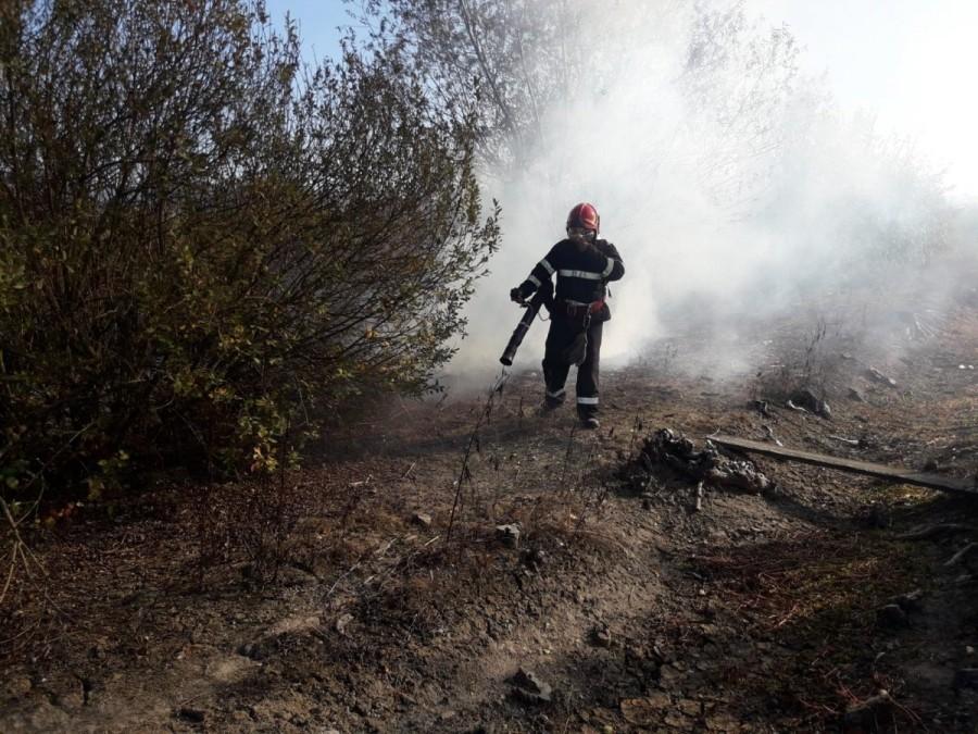 Lupta pompierilor arădeni cu focul