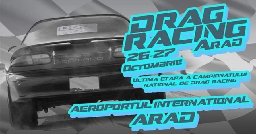 Finala Campionatului Național de Dragracing va avea loc pe Aeroportul Arad