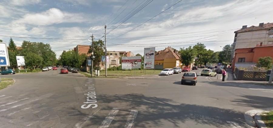 O șoferiță a lovit un pieton și a fugit de la fața locului