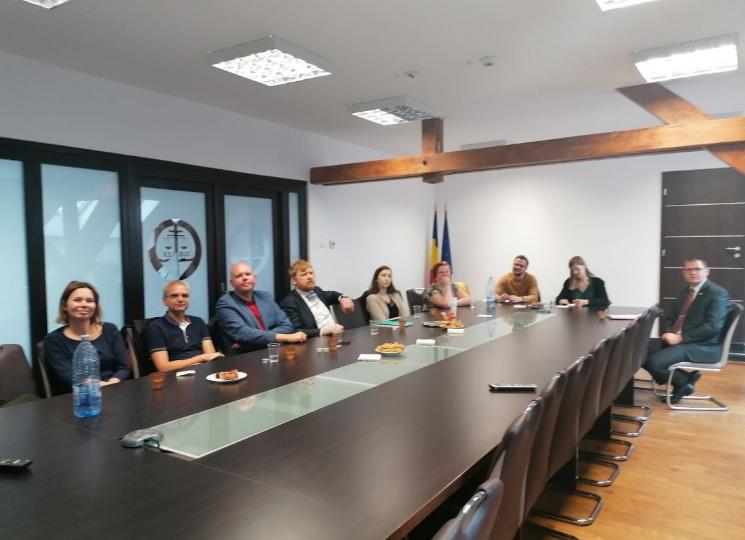 Judecători din Germania, Estonia, Finlanda și Olanda la Tribunalul Arad