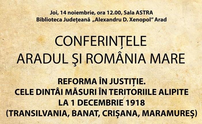 """Conferințele """"Aradul și România Mare"""": prof.univ.dr.emerit Ion Zainea - invitat la Arad"""