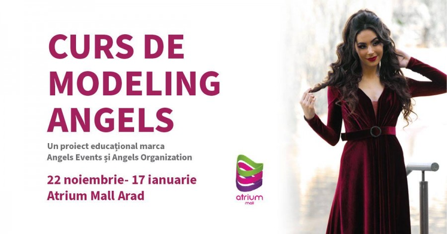 Noul curs de modeling marca Angels Events