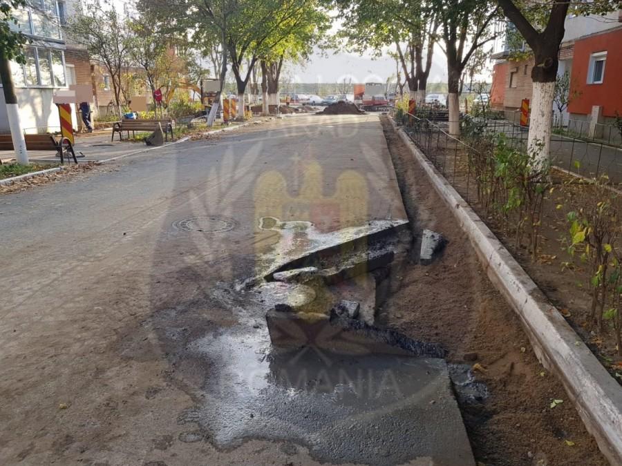 Ce amenzi a mai dat Poliția Locală constructorilor care îşi bat joc de lucrările pe care le fac în Micălaca