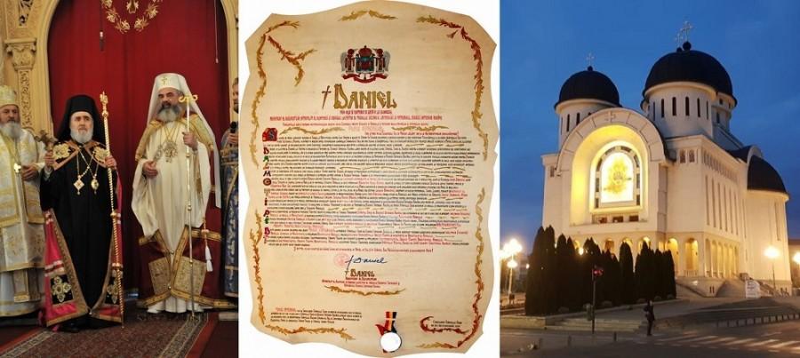 Sărbătoare în Cetate. Un deceniu de la ridicarea Episcopiei Aradului la rangul de Arhiepiscopie!