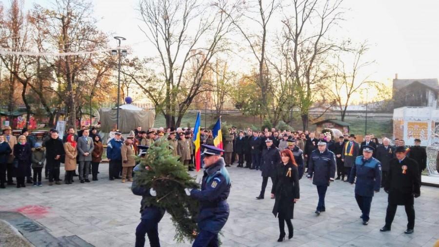 Recunoștință eroilor neamului și Corifeilor Marii Uniri de Ziua Națională a României
