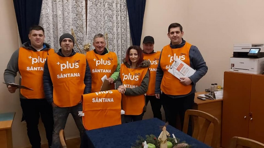 PLUS  Sântana a petrecut ziua națională alături de locuitorii orașului  Sântana