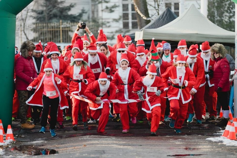 Happy Race 2019; cursa Moş Crăciunilor de la Arad