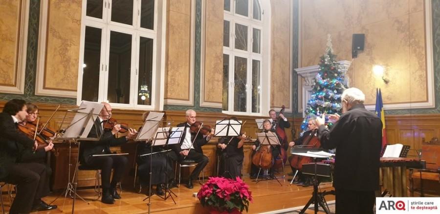Concertul de Advent a adus spiritul Sărbătorilor în Palatul Justiției