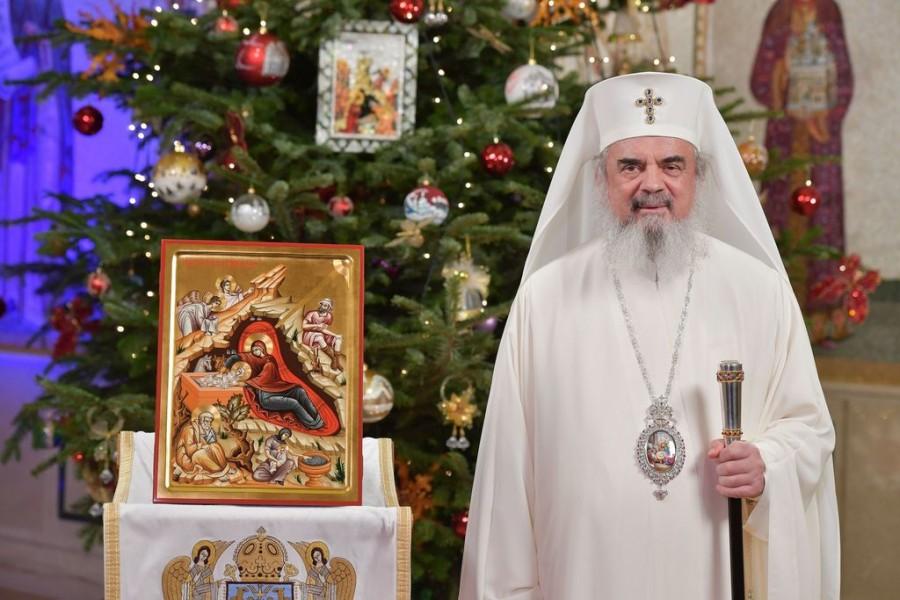 Mesajul Patriarhului României de Crăciun