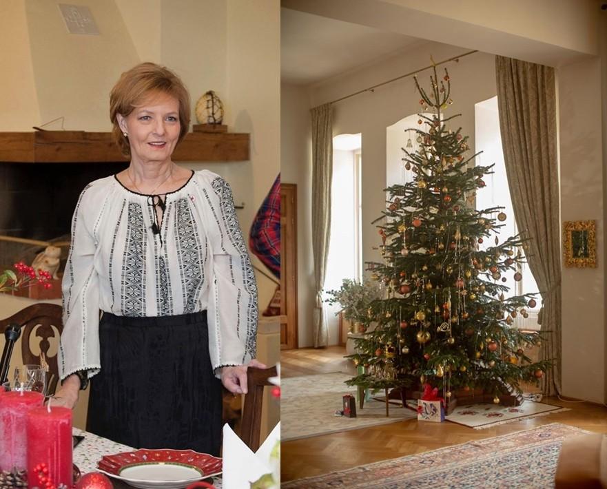 Familia Regală a prezentat bradul și meniul de Crăciun