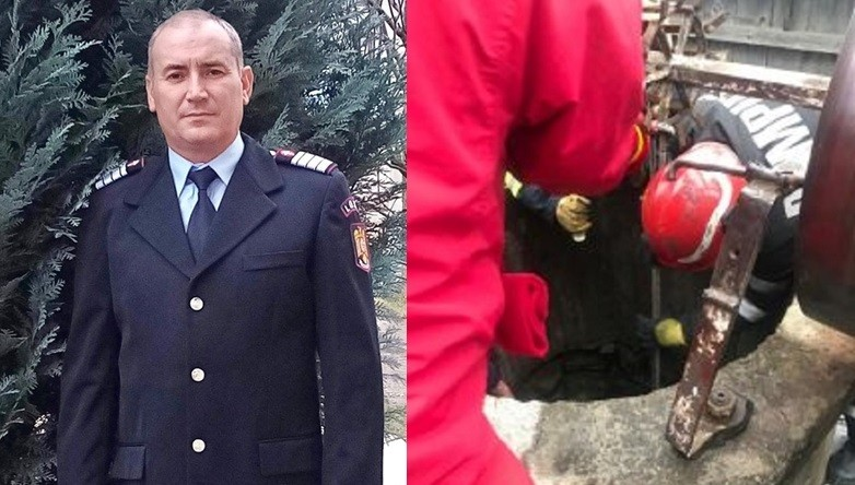 Minunile există. Povestea pompierului care a salvat o fată căzută într-o fântână adâncă de 31 de metri