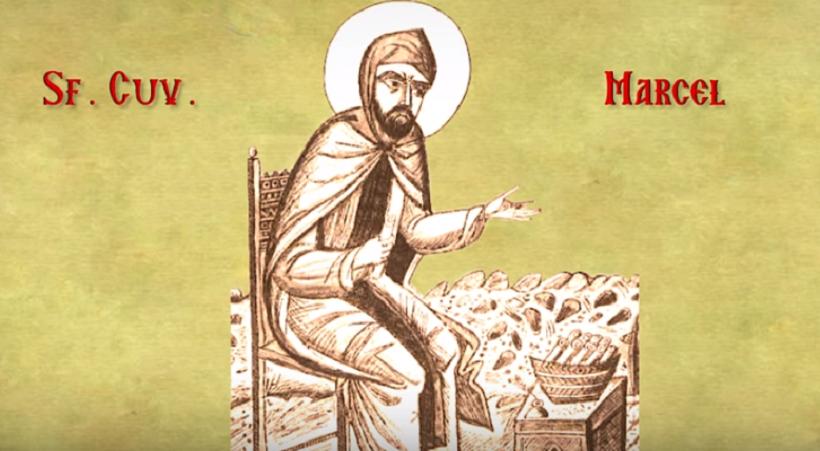 Sfântul Cuvios Marcel, grabnicul ajutător al săracilor și tămăduitor al bolnavilor
