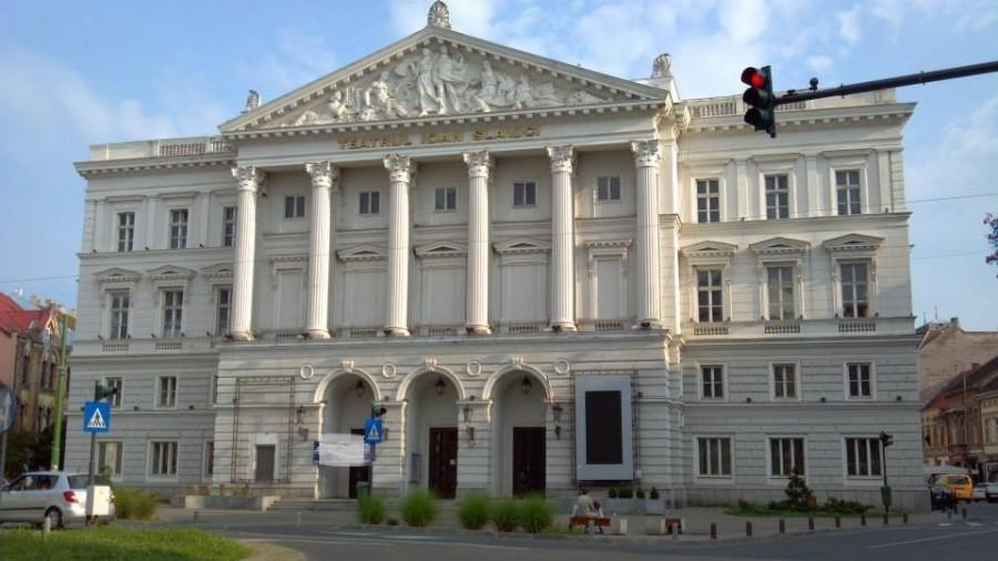 Fațada Teatrului arădean va fi renovată