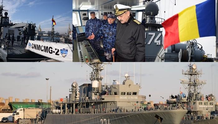 """Nava militară """"Viceamiral Constantin Bălescu"""" se pregătește pentru executarea unei misiuni NATO"""