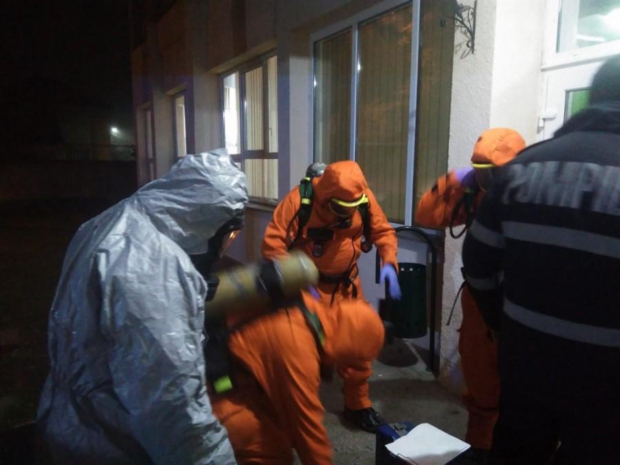 13 elevi ai școlii generale de pe lângă Liceul German au fost aduși la UPU a Spitalului Județean Arad