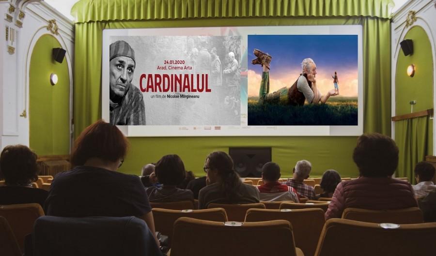 """""""Cardinalul"""" și """"Marele uriaș prietenos"""", redifuzate la Cinema Arta în această săptămână"""