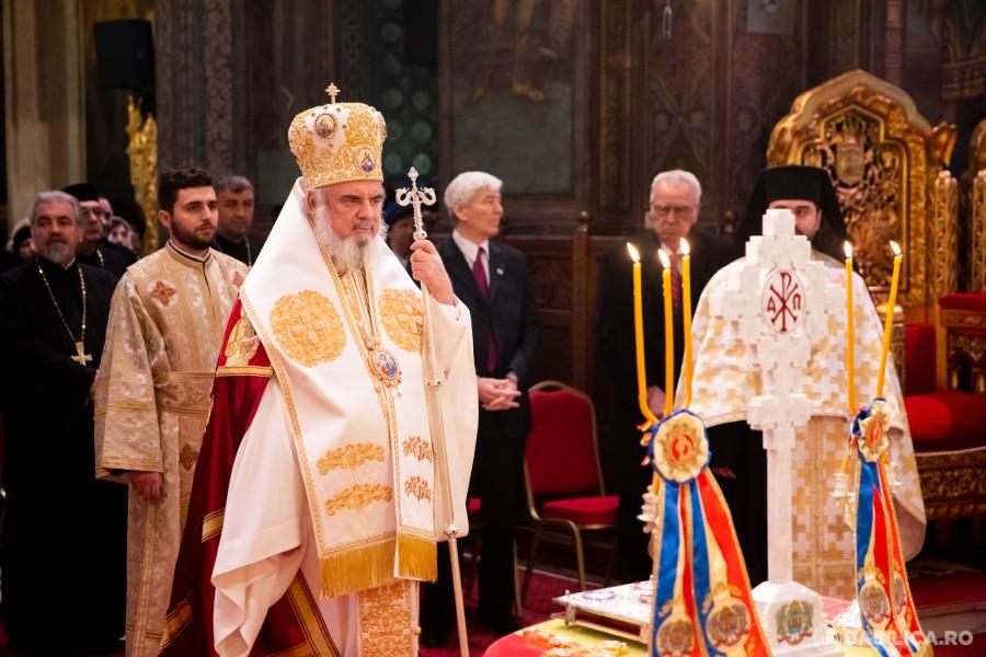 """Patriarhul BOR: """"Biserica a promovat unitatea, libertatea şi demnitatea poporului român"""""""