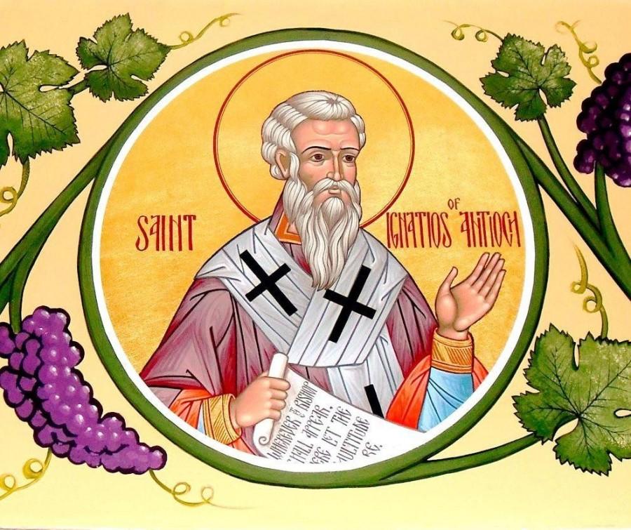 Aducerea moaștelor Sfântului Mucenic Ignatie Teoforul