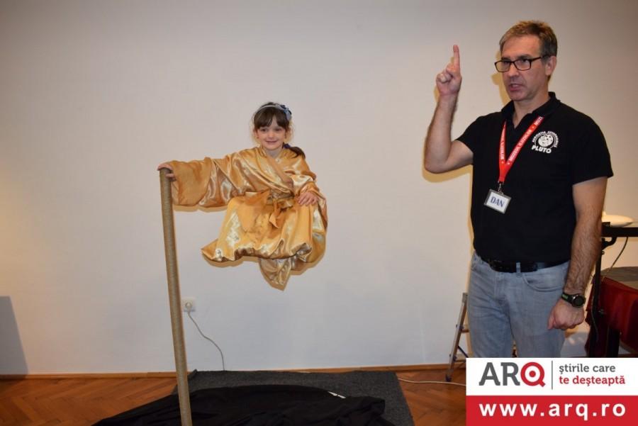 Muzeul Iluziilor e prezent la Muzeul de Artă ARAD!