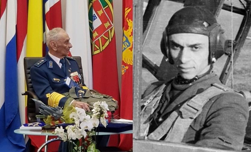 Generalul erou Ion Dobran, ultimul As al Aviației Române de război, a împlinit 101 ani
