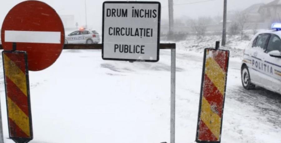 Circulație închisă pe A2 și 28 de drumuri naționale, în această dimineață