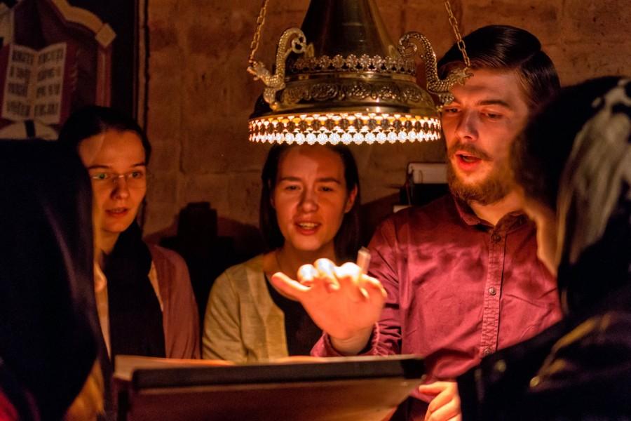 Ethosul bizantin adus în actualitate la Muzeul Etnografic al Transilvaniei din Cluj-Napoca