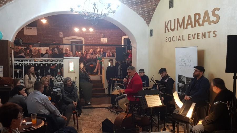 What a wonderful world! Concert de Jazz în premieră, oameni faini și multă voie bună, în Arad, la Sufrageria Arădeană