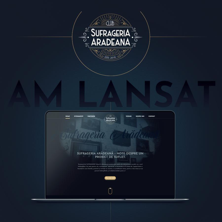S-a lansat noul site la Sufrageria Arădeană