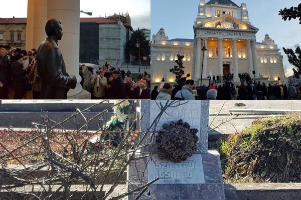 (FOTO) Arhitectul Ludovic Szántay, între dezvelirea statuii de la Palatul Cultural și un mormânt lăsat în paragină