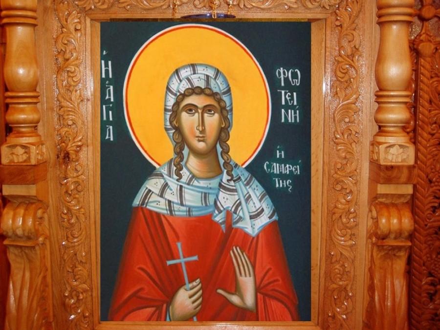 Sfânta Fotini Samarineanca, muceniţa cea luminătoare