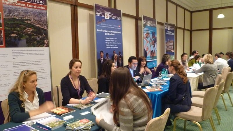 Universități din UK vin la Timișoara la World Education Fair, cel mai important târg educațional al începutului de an