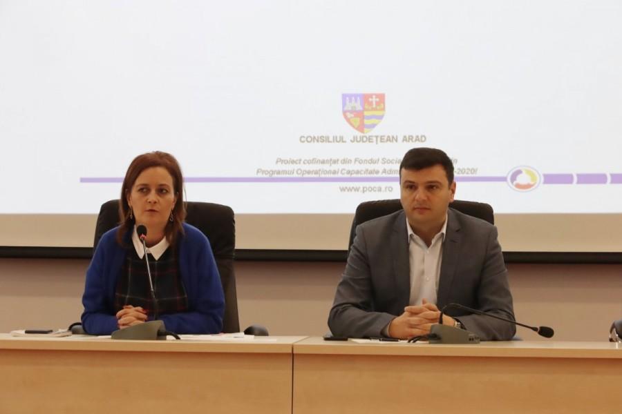 Consiliul Judeţean Arad continuă demersurile de prevenire a corupției și de creștere a transparenței actului administrativ
