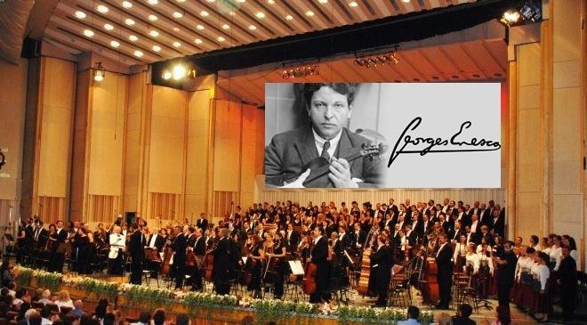 Muzica lui Enescu se aude la Royal Festival Hall, interpretată de una dintre cele mai vestite orchestre simfonice din lume
