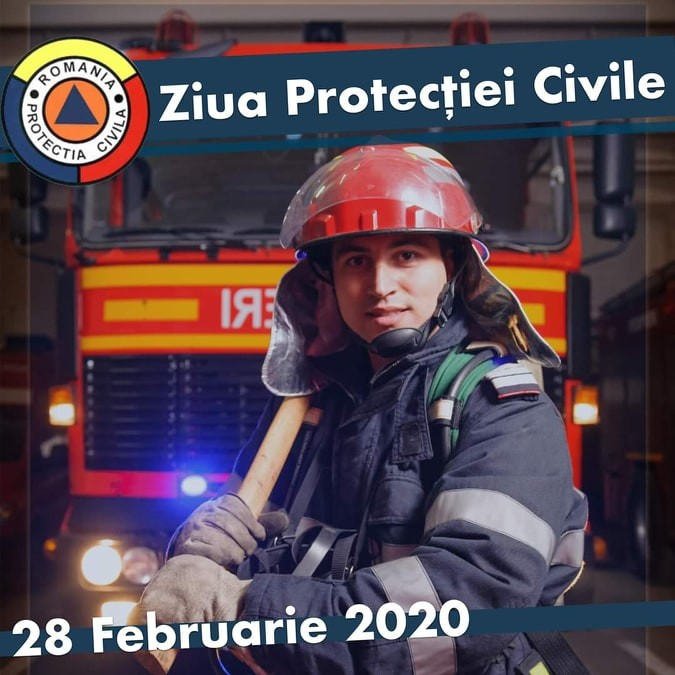Ziua Protecției Civile, sărbătorită la 28 februarie