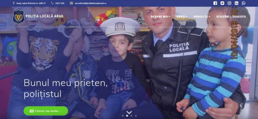 Firmele suspendate pe pagina poliţiei locale