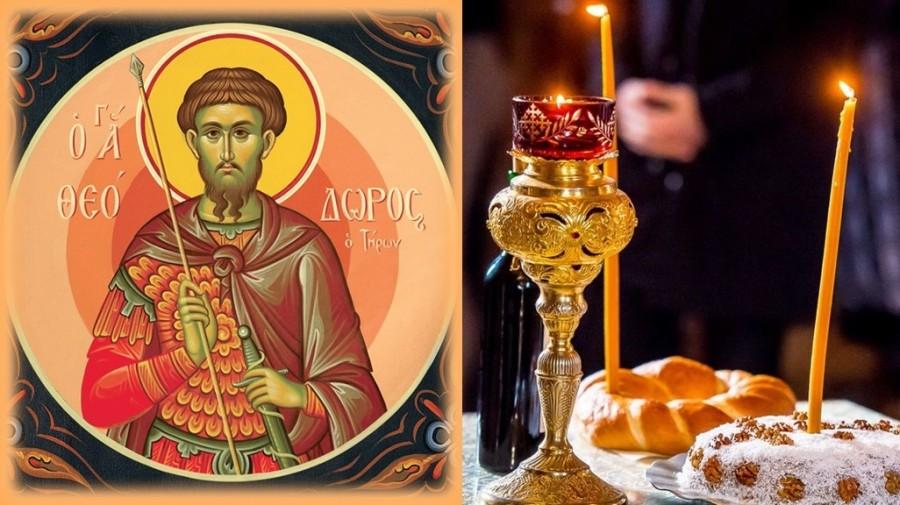 Sâmbăta Sfântului Teodor sau a colivelor. Biserica face pomenirea celor adormiți ai noștri